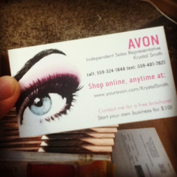 Sales Tools Info Avon By Krystal